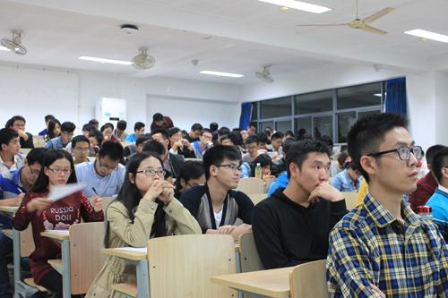 金鑫集团江南大学校园宣讲活动